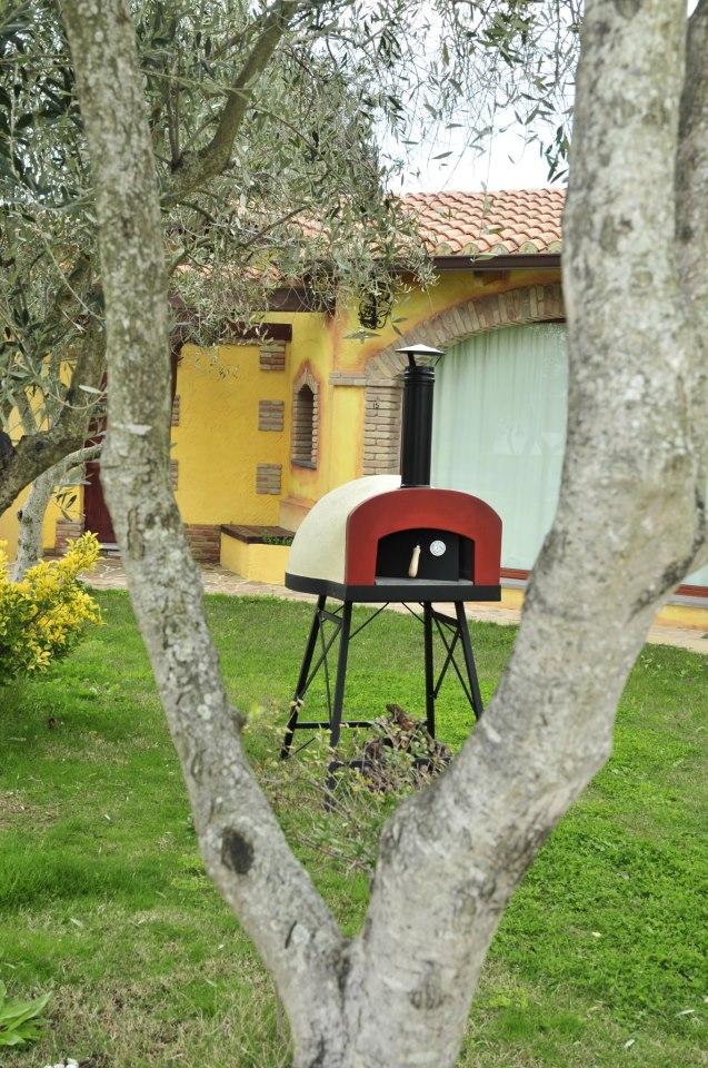 Záhradná pec na pizzu